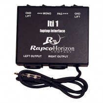 Rapco Horizon LTI-1 Stereo Laptop Interface Box