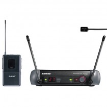 Shure PGX Wireless with WL93 or WL185 Lapel Microphone