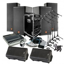 PACKAGE - 10,000 watt Concert Sound System