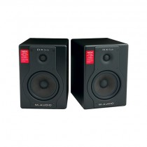 M-Audio BX5a Deluxe 70-watt Bi-amplified Studio Reference Monitors Speakers