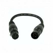 ADJ DMX Converter 5 Pin Male to 3 Pin Female Cable