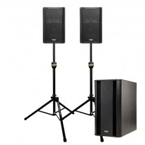 Premium Sound PA Packages with Subwoofers