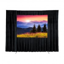 Screen, Da-Lite 12.5' diag. (7.5' x 10') Fast Fold with Dress Kit